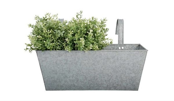 Apartminty Fresh Picks: Furnish Your Apartment Balcony For Summer | Old Zinc Balcony Planter