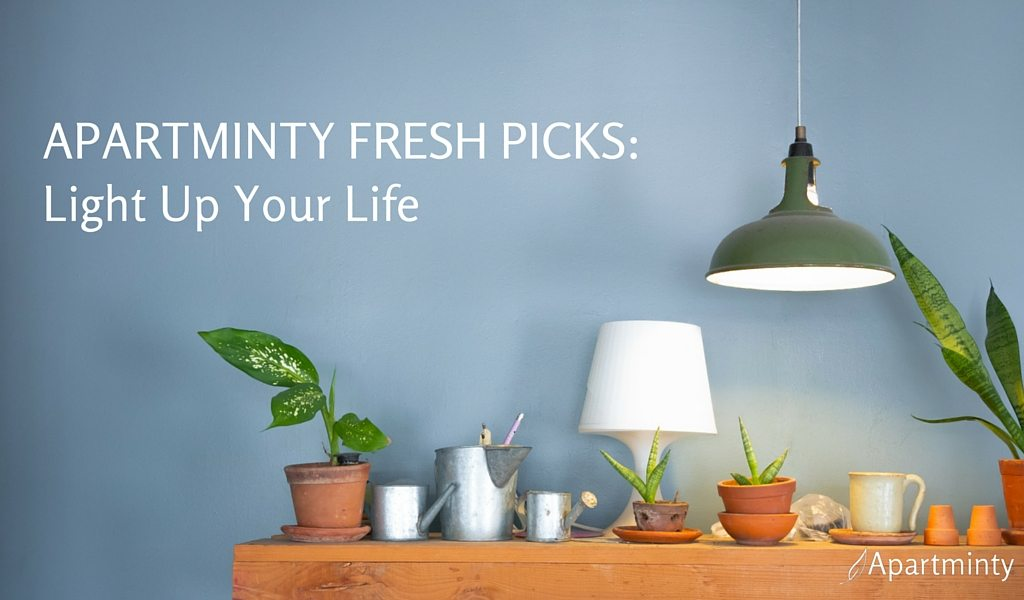 Apartminty Fresh Picks | Lamps For Your Apartment | Light Up Your Life