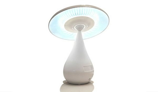 Apartminty Fresh Picks   Lamps For Your Apartment   Negative Ion Air Purifying Mushroom Lamp