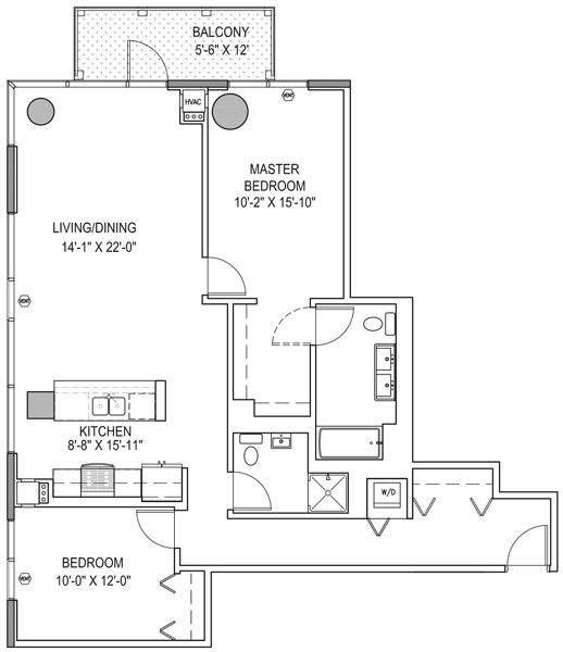 1333 South Wabash Apartments Property Page