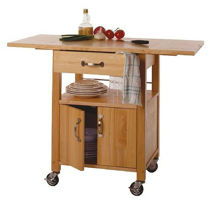 5 Things All Small Kitchens Need | Apartment Living | Kitchen Island Butcher Block Utility Cart