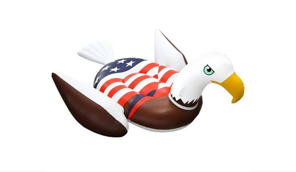Apartminty Fresh Picks: Fourth of July Accessories | American Bald Eagle Pool Float