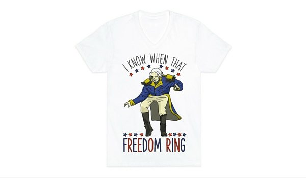 Apartminty Fresh Picks: Fourth of July Accessories | I Know When That Freedom Ring T-Shirt