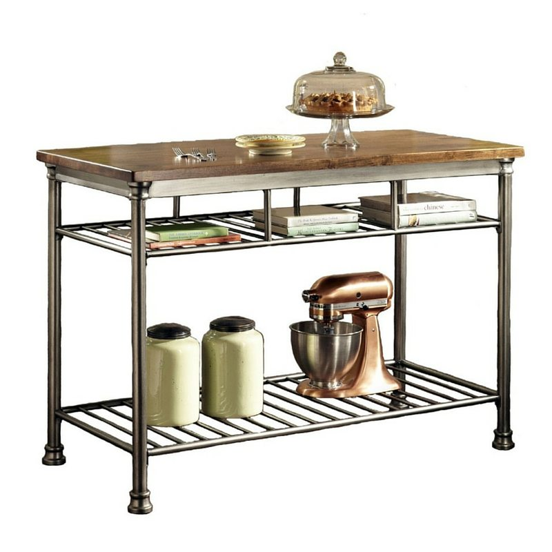 5 Things All Small Kitchens Need | Apartment Living | Kitchen Island Butcher Block