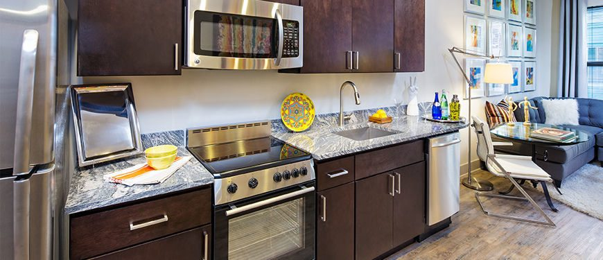 Best Apartment Kitchens in Washington DC | Monroe Street Market Apartments | Washington DC