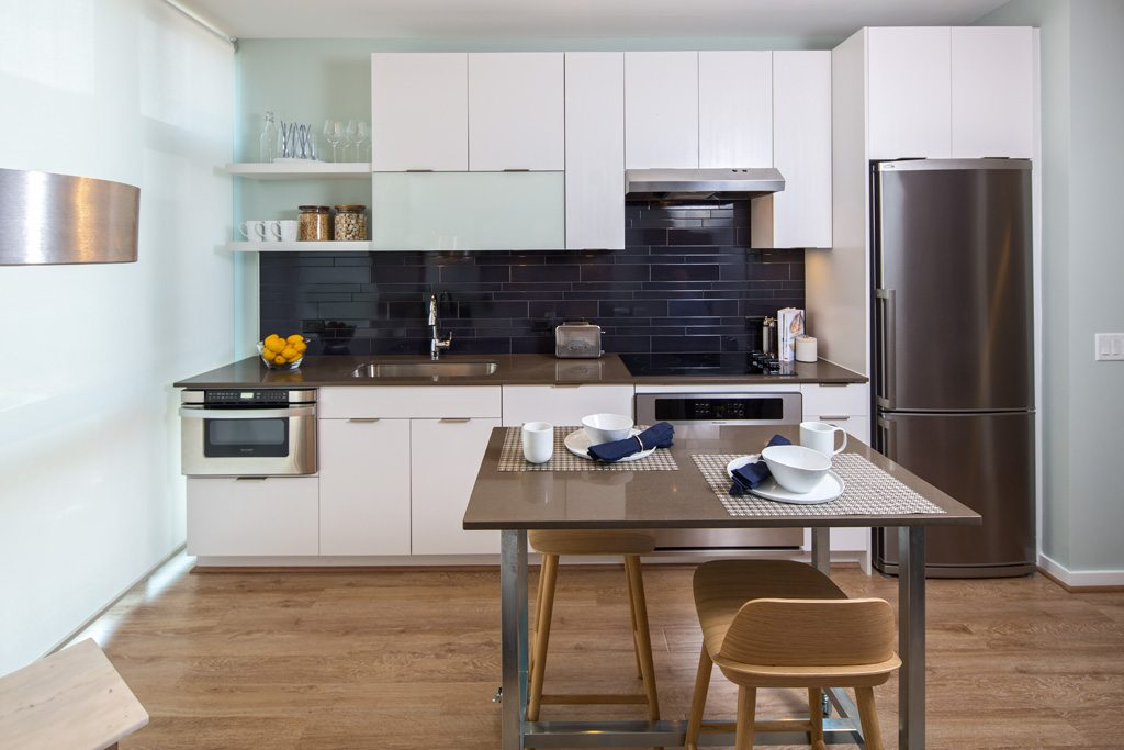 Superbe The Shay Luxury Apartments In Washington Dc Gourmet Modern Kitchen