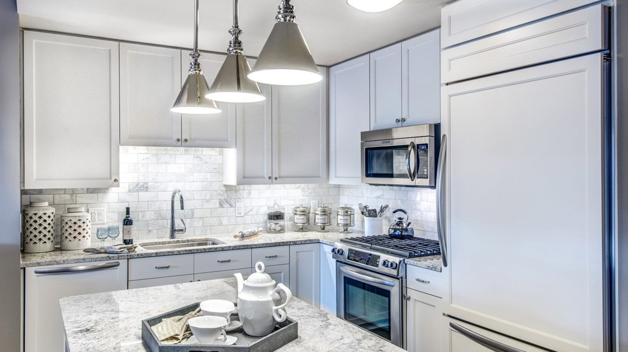 Best Apartment Kitchens In DC | The Woodley | Luxury Apartments in Washington, DC