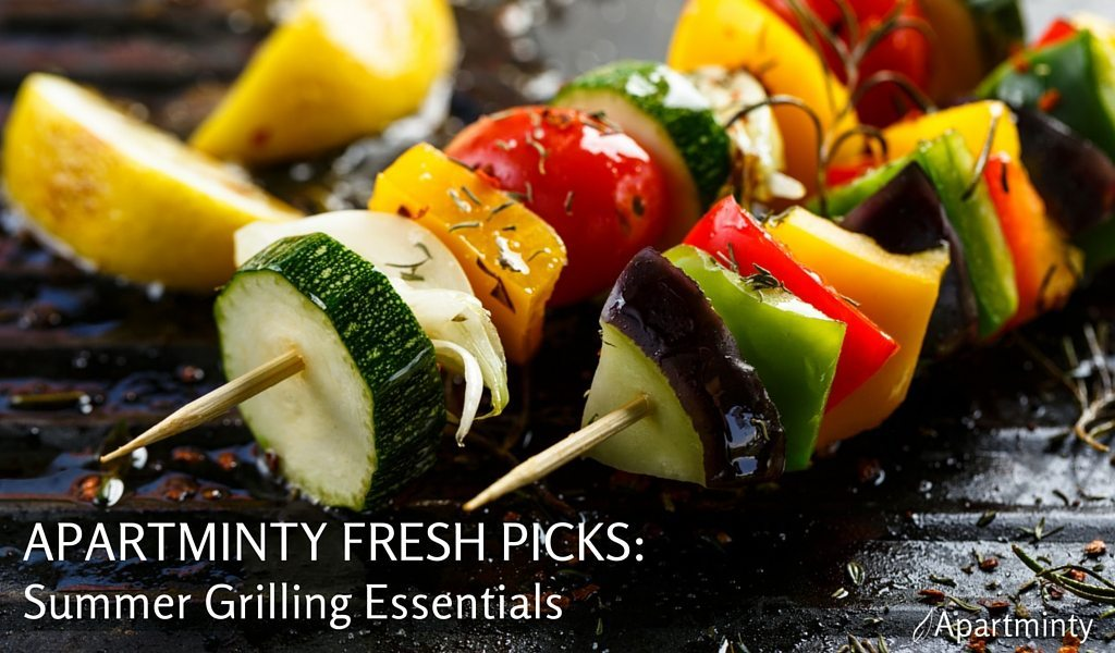 Apartminty Fresh Picks: Summer Grilling Essentials
