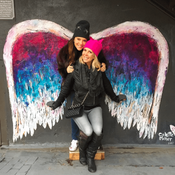 Embassy Row Hotel | Colette Miller's Angel Wings Street Art | Instagrammers Guide To DC Photo-Ops