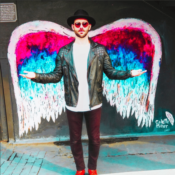 The Instagrammers Guide To Washington, DC | Photo-Ops in Washington, DC | Embassy Row Hotel | Colette Miller's Angel Wings Street Art