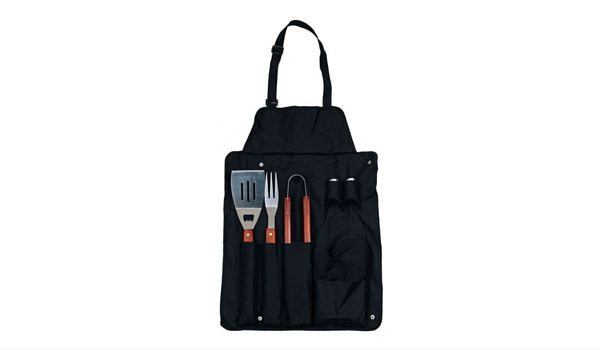 Apartminty Fresh Picks: Summer Grilling Essentials | 7-Piece Apron and Grilling Utensil Set
