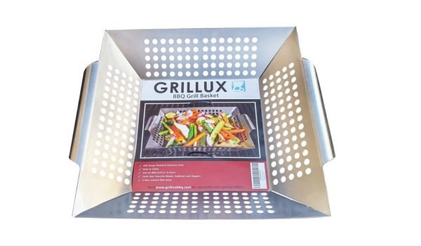Apartminty Fresh Picks: Summer Grilling Essentials | Grillux Vegetable Grill Basket