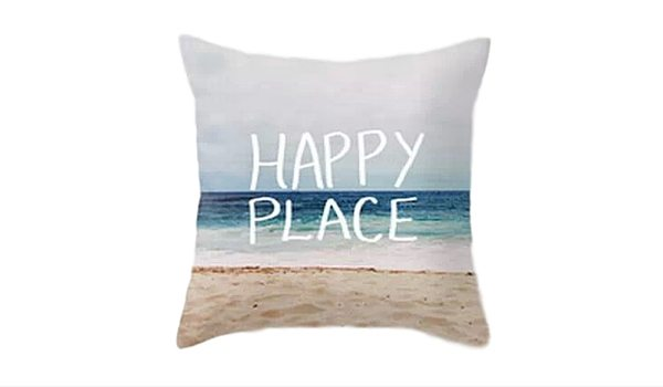 Apartminty Fresh Picks: Coastal Accessories For Your Apartment | Happy Place Pillow