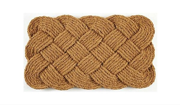 Apartminty Fresh Picks: Coastal Accessories For Your Apartment | Nautical Knots Door Mat
