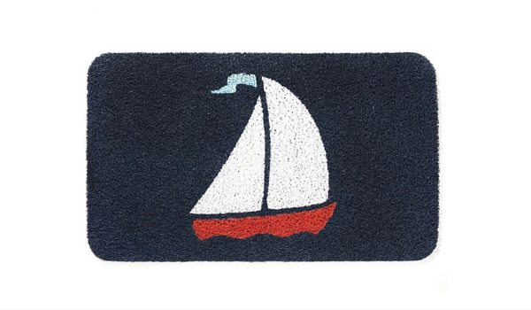 Apartminty Fresh Picks: Coastal Accessories For Your Apartment | Kikkerland Sail Doormat