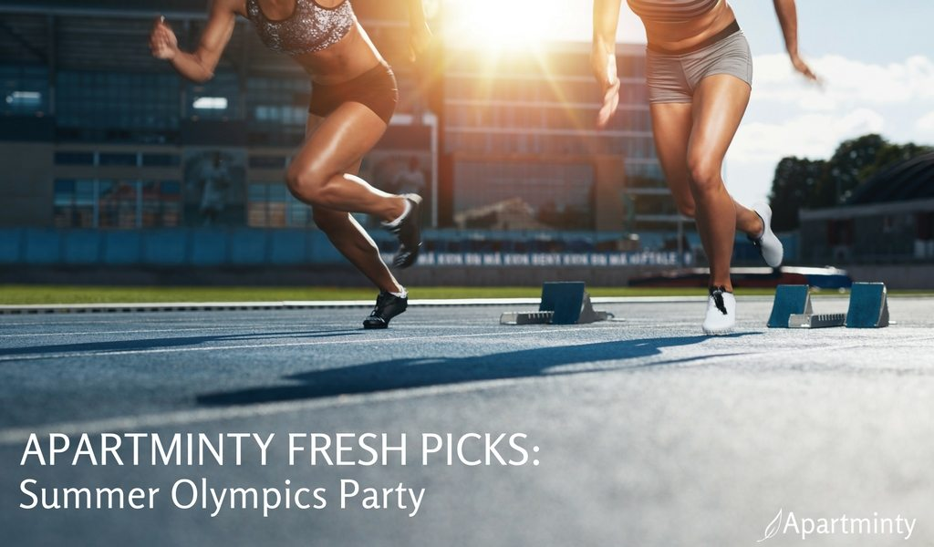 Apartminty Fresh Picks: Summer Olympics Viewing Party