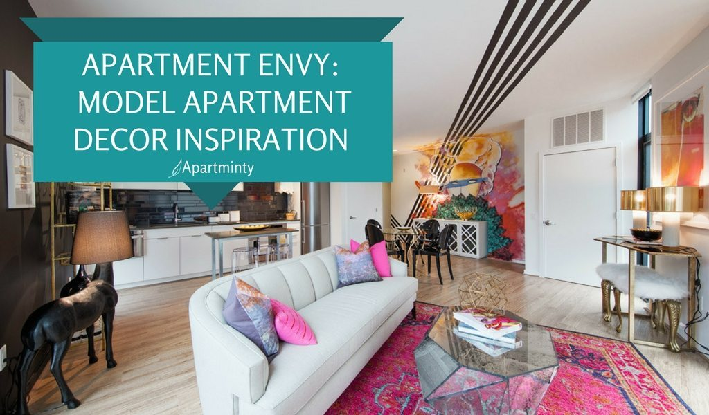 Apartment Envy: Apartment Model Decor Inspiration We're Crushing On Right Now