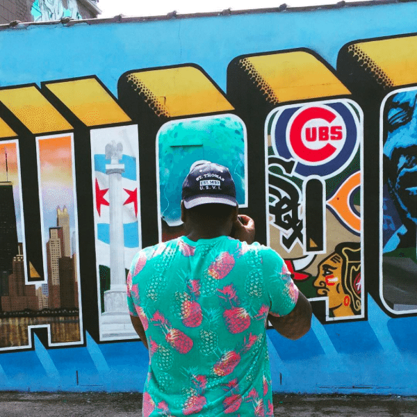 The Instagrammers Guide To Chicago, IL | Photo-Ops in Chicago | Greetings From Chicago Mural
