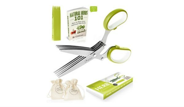 Apartminty Fresh Picks: Herb Garden Essentials For The Apartment Gardener | Chefast Herb Scissors Set