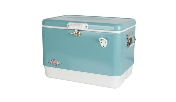 Apartminty Fresh Picks: Summer Roadtrip Essentials | Coleman Steel-Belted Cooler in Turquoise