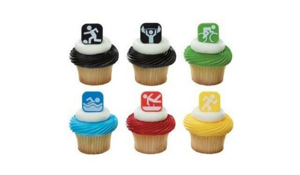 Apartminty Fresh Picks: Summer Olympics Viewing Party | Cupcake Toppers