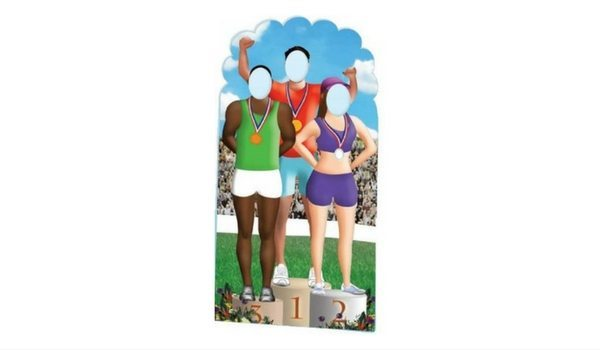 Apartminty Fresh Picks: Summer Olympics Viewing Party | Olympic Podium Life-Size Cutout