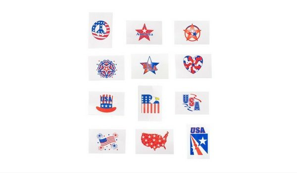 Apartminty Fresh Picks: Summer Olympics Viewing Party | Patriotic Temporary Tattoos