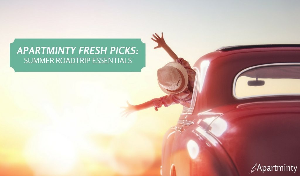 Apartminty Fresh Picks: Summer Road Trip Essentials