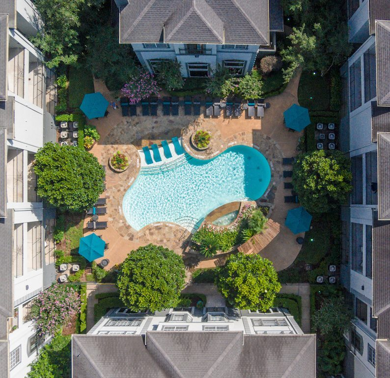 Camden Midtown Apartments in Houston TX