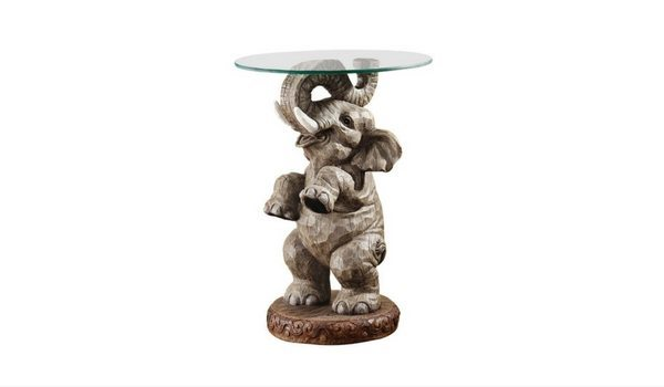 Apartminty Fresh Picks: Bohemian Chic Apartment Decor | Good Fortune Elephant End Table