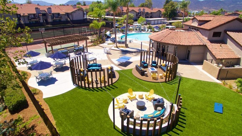 Acacia Park Apartments in Temecula, CA | Best Apartment Community Pools In The Country