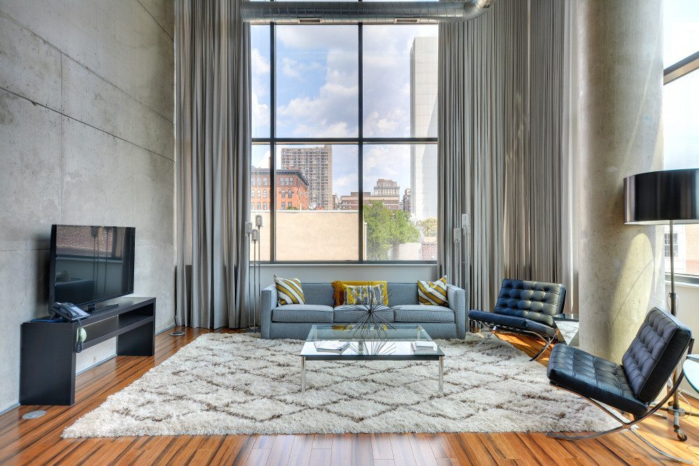1352 Lofts | Converted Loft-Style Apartments In Philadelphia, PA | Living Room Details