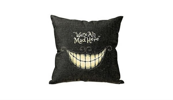 Apartminty Fresh Picks: Throwing A Grown-Up Halloween Party In Your Apartment | Cheshire Cat Pillow