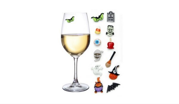 Apartminty Fresh Picks: Throwing A Grown-Up Halloween Party In Your Apartment | Halloween Wine Charms