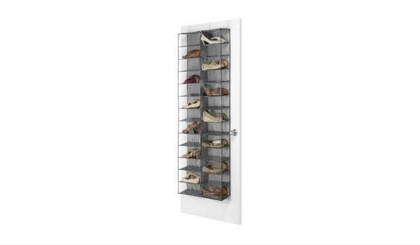 Apartminty Fresh Picks: Shoe Storage Organization For Your Apartment | Over-The-Door Hanging Shoe Rack