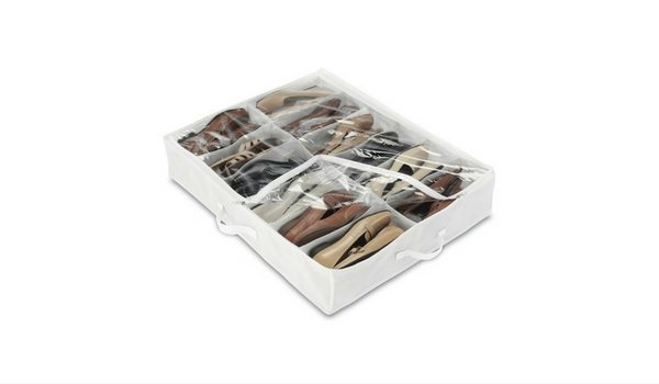 Apartminty Fresh Picks: Shoe Storage Organization For Your Apartment | Underbed Shoe Bag