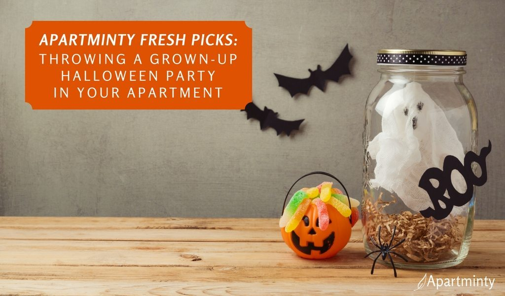 Apartminty Fresh Picks: Throwing A Grown-Up Halloween Party In Your Apartment