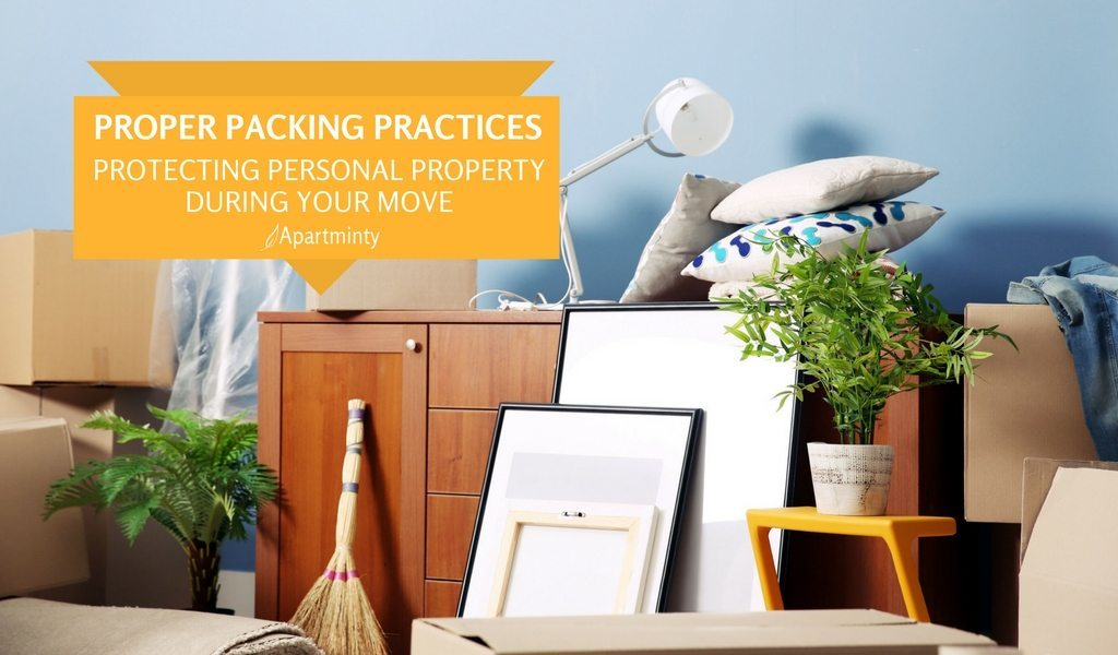 Proper Packing Practices From Pro Move | Protecting Your Personal Property During A Move