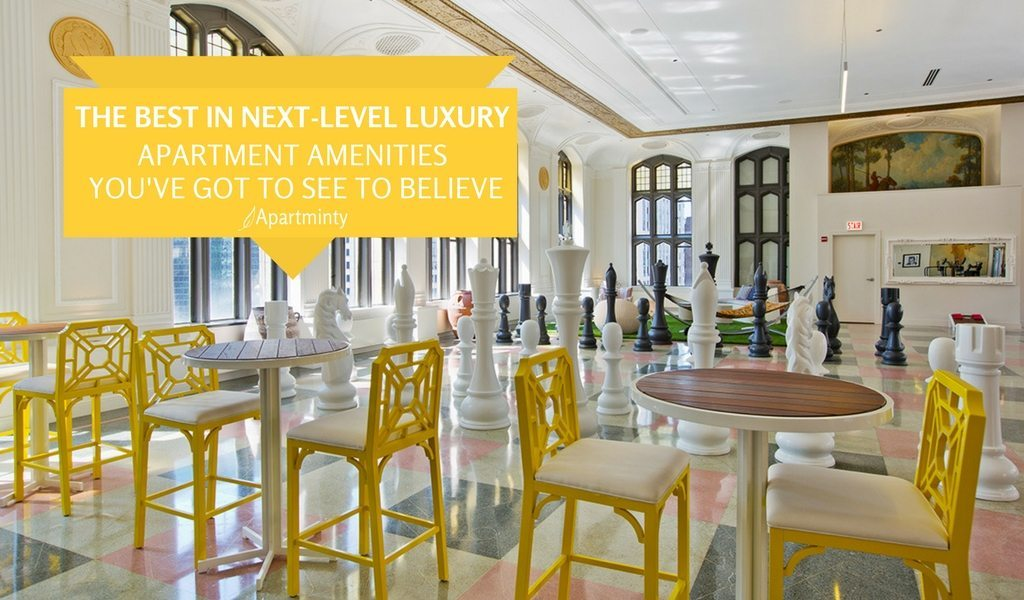 The Best In Next-Level Luxury: Apartment Amenities You've Got To See To Believe