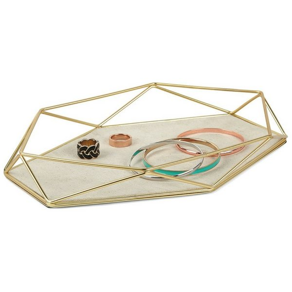 Apartminty Fresh Picks | Trays To Control Clutter | Umbra Prism Jewelry Tray