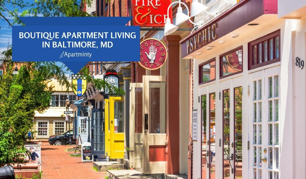 Boutique Apartment Living In Baltimore, MD