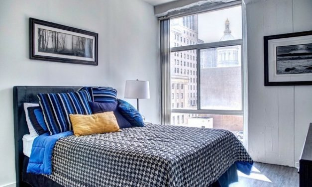 Great Deal On A Converted Baltimore Warehouse Loft-Style One Bedroom Apartment