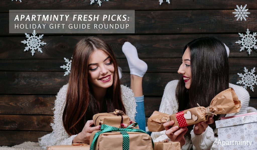 Apartminty Fresh Picks: 2016 Holiday Gift Guide Round-Up