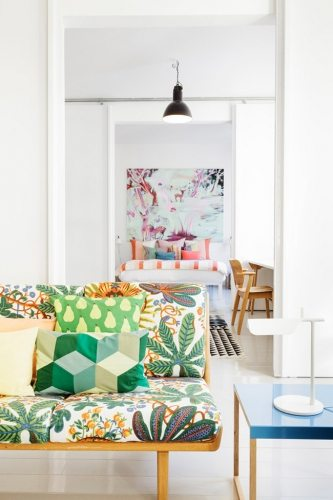 Pantone's Color Of The Year Greenery | Decorating Your Apartment | Green Throw Pillows