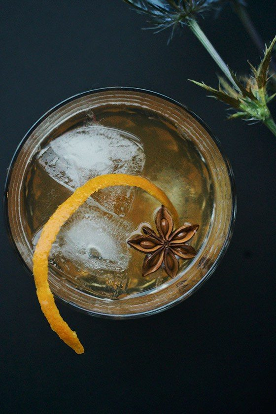 Chai Honey Old Fashioned | Winter Cocktails To Keep You Warm