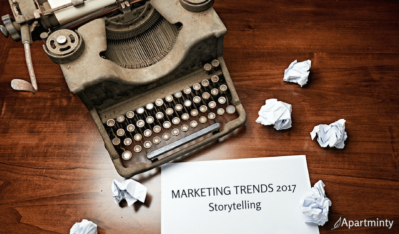 Marketing Trends 2017 Storytelling