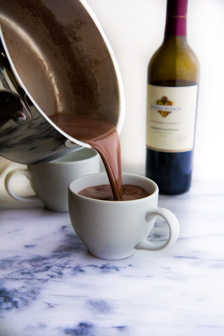 Red Wine Hot Chocolate | Winter Cocktails To Keep You Warm