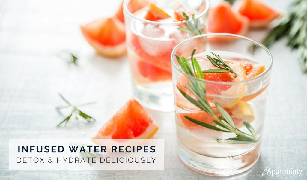 Infused Water Recipes To Help You Hydrate & Detox In The New Year