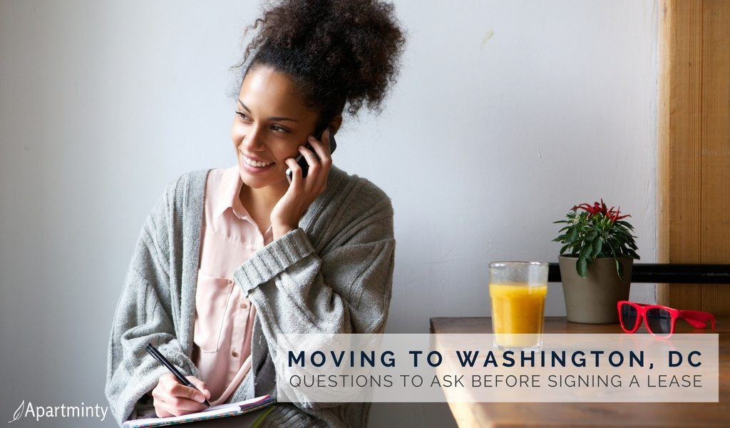 Moving To Washington, DC | Questions To Ask Before Signing A Lease On A New Apartment