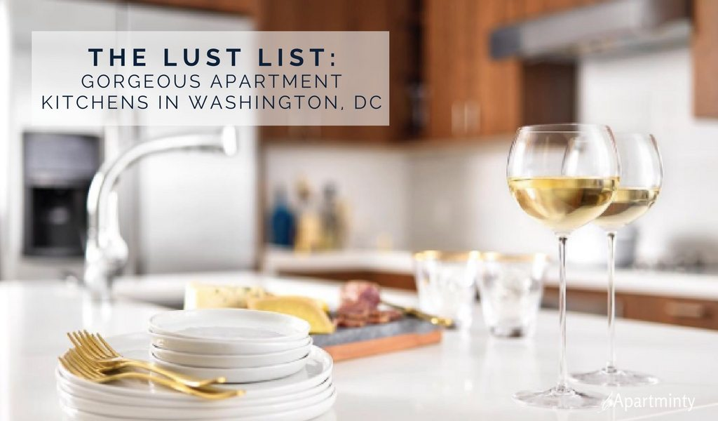 The Lust List: Gorgeous Apartment Kitchens In Washington, DC